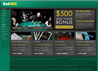 bet365 Poker Homepage