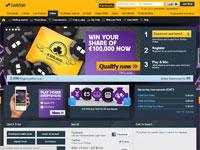 BetfairPoker Homepage