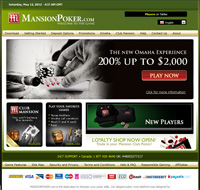 MansionPoker Home Page