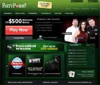 PartyPoker Homepage