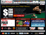 RedKings Poker Homepage