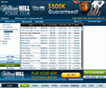 WilliamHill Poker Lobby