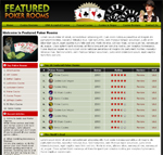 Featured Poker Rooms